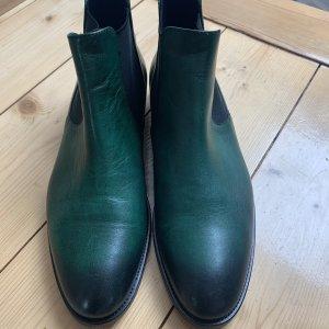 Lloyd Slip-on Booties dark green
