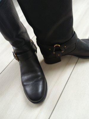 Prada Botas deslizantes negro