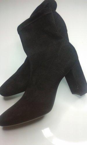 H&M Botas elásticas negro