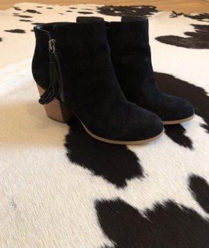 Stiefelette schwarz Pier one 38 hohe Schuhe Mode Blogger Fashion Chelsea Boots