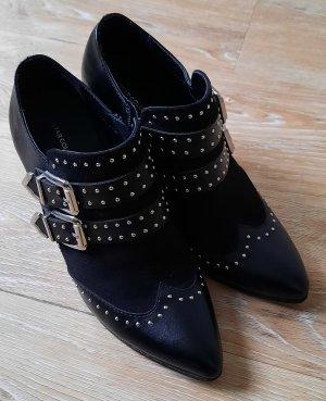 Stiefelette Star Collection (Deichmann) schwarz mit Nieten