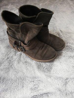 Tamaris Botines de invierno gris