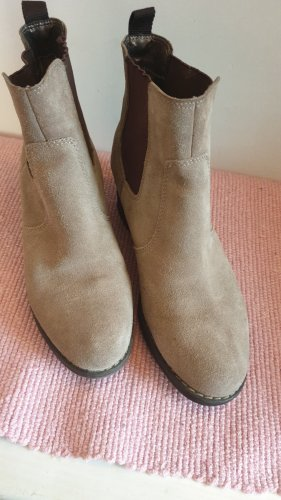 5th Avenue Bottines à enfiler taupe