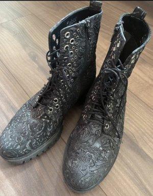 Gabor Bottines à lacets noir