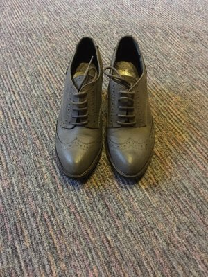 Graceland Peep Toe Booties dark grey-anthracite