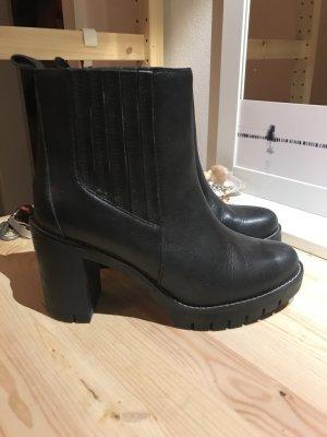 Tommy Hilfiger Slip-on laarzen zwart