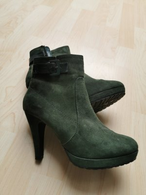 ankle boots braun high heels jane klain