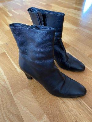 Botas con cremallera negro