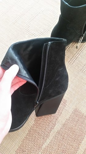 Winter Booties black leather