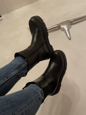 Unbekannte Marke Platform Booties black