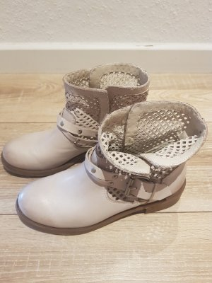 Ankle Boots oatmeal leather
