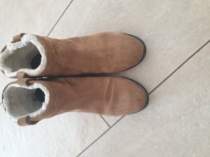 H&M Slip-on Booties brown