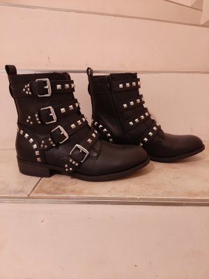 Catwalk Stivaletto con zip nero
