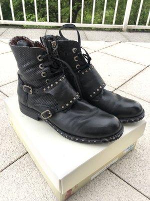 A.S.98 Stivaletto con zip nero