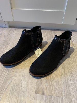 Caprice Slip-on Booties black-dark blue