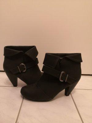 Bon Prix Slip-on laarzen zwart