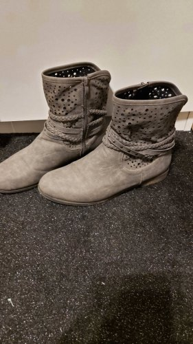 markenlos Short Boots grey