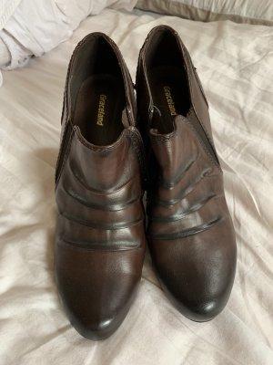 Graceland Wysokie buty na obcasie Wielokolorowy