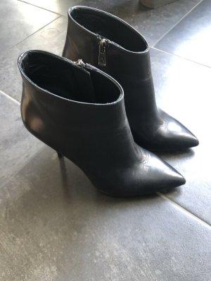 Albano Wedge Booties black