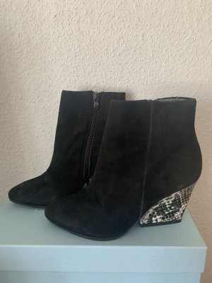 Stiefeletten Ankle Boots Keilabsatz