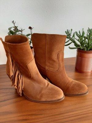 Stiefeletten Ankle Boots Mango Gr. 39