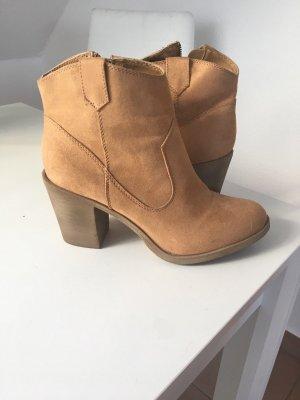H&M Western Booties camel