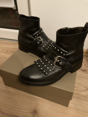 Bruno Premi Zipper Booties black