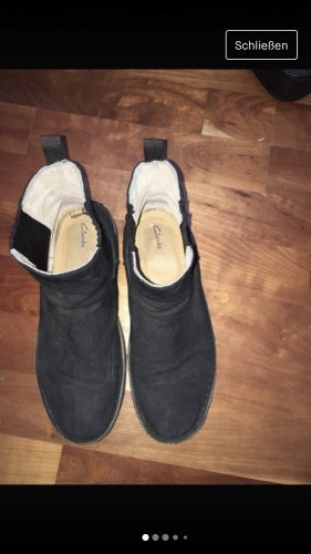 Clarks Winter Booties black