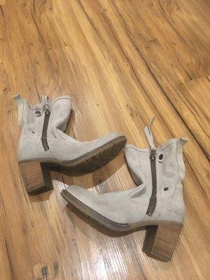 Tamaris Slip-on Booties light grey-oatmeal