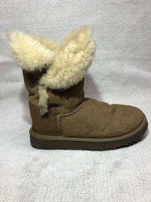 Short Boots beige-brown