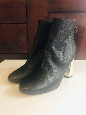 Stiefeletten Boots Gr.38 echt Leder neu