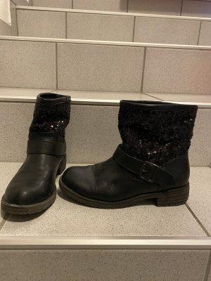 Slip-on laarzen zwart
