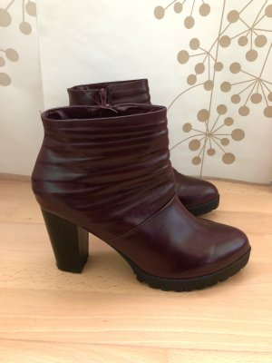 Never 2 Hot Booties multicolored imitation leather