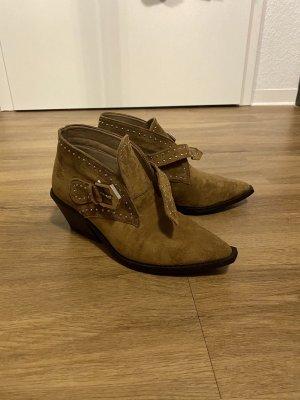 Stiefeletten - Cowboy Boots von Seven7 | Size 7 - EU 38