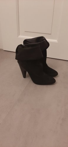 ASH Heel Boots black leather