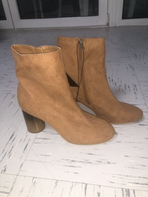 Forever 21 Buty zimowe camel-beżowy