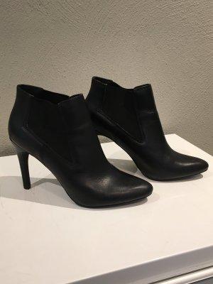 Akira Wciągane buty za kostkę czarny