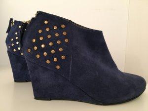 5th Avenue Zapatos Mary Jane azul Cuero