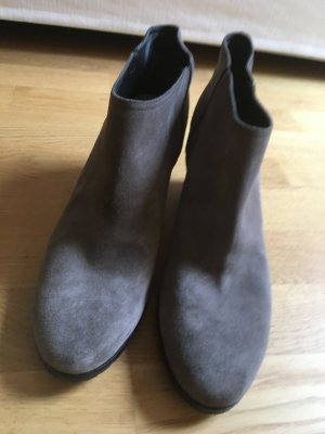 Golden Goose Ankle Boots grey leather