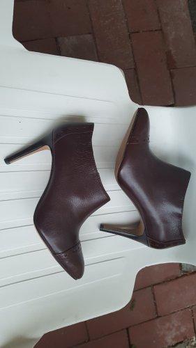 Nine west Bottines plissées brun