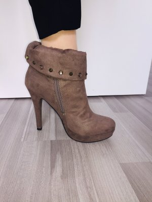 AF Platform Booties multicolored