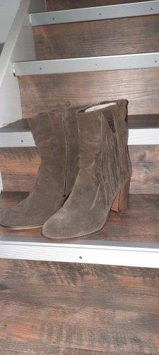 Western Booties grey