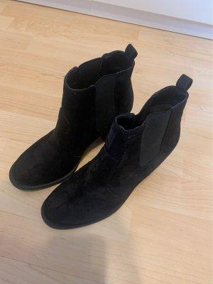 H&M Laarsjes met sleehak zwart