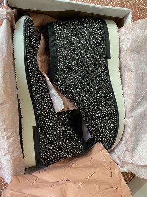 Stiefeletten High Sneakers von Fornarina mit Strass NEU