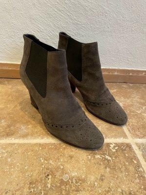 Lella Baldi Western Booties multicolored leather