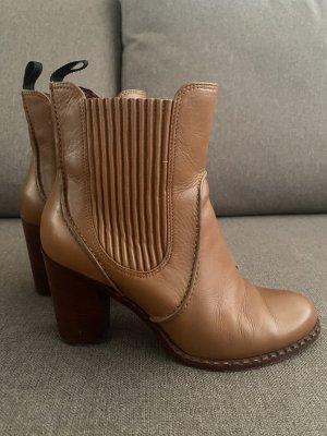 Marc Jacobs Chelsea laarzen camel Leer