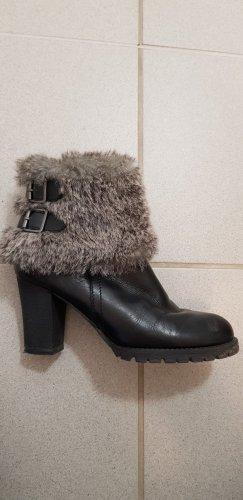Tamaris Winter Booties black-grey