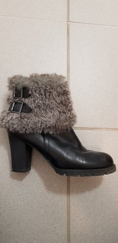 Tamaris Botines de invierno negro-gris
