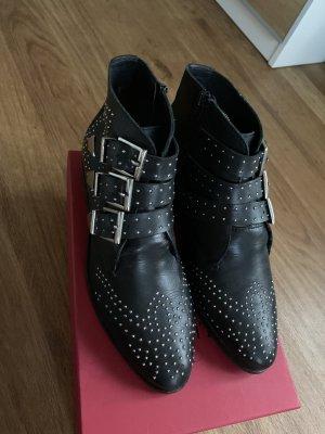 Another A Laarsjes zwart-zilver