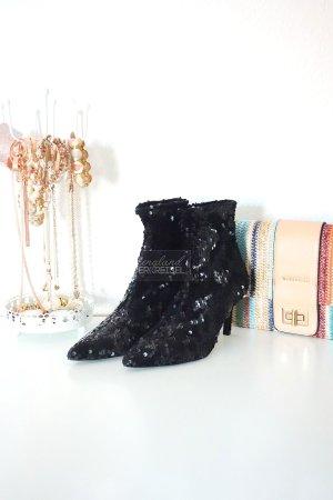 Stiefeletten mit Pailletten von Zara